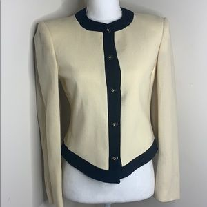 Christian Dion Suit Jacket Womens Blazer Vintage 4